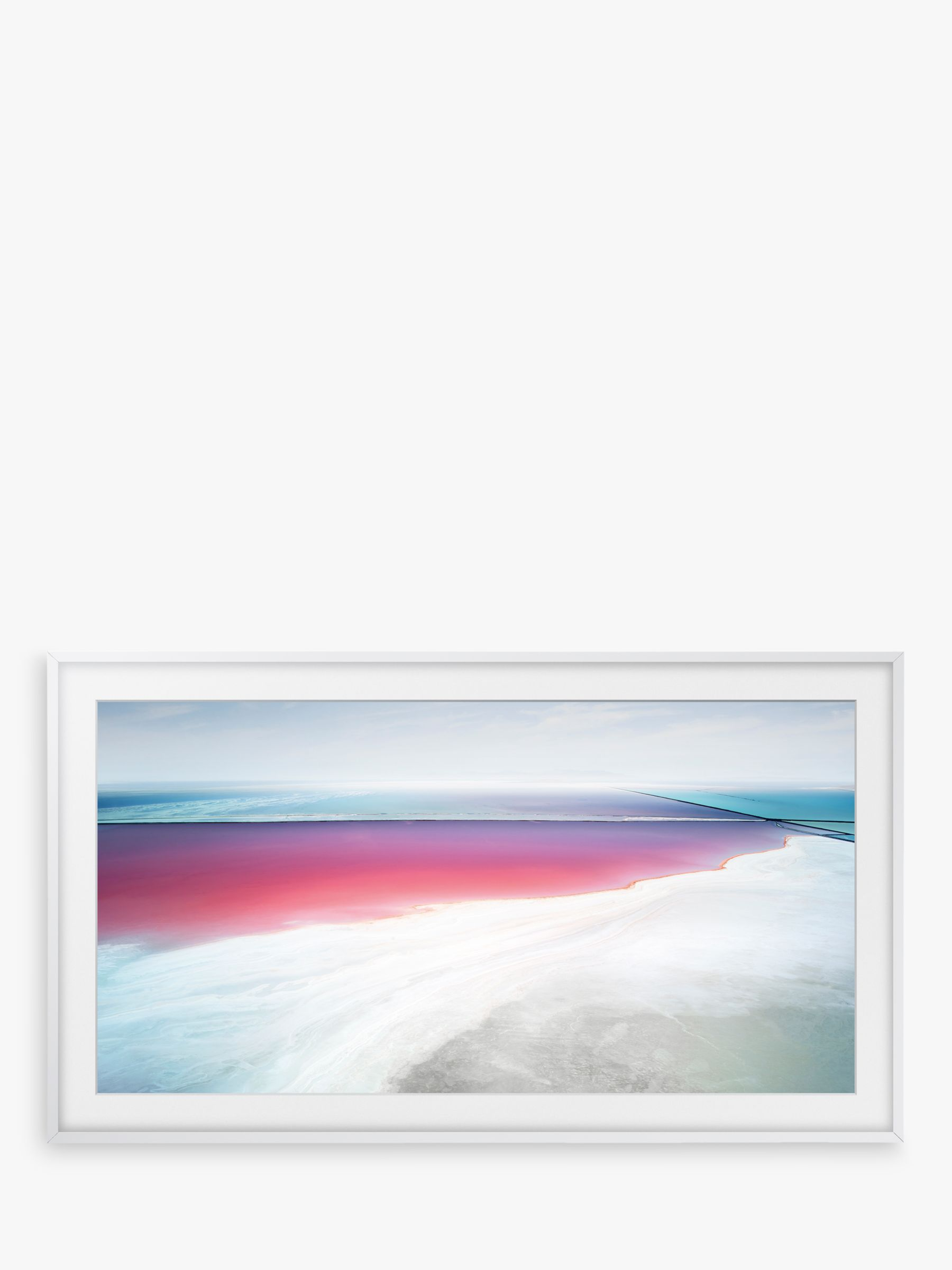 "Customisable Frame Bezel for Samsung The Frame, 55"", White"