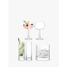 Buy LSA International Gin Glasses and Ice Bucket Gift Set, Clear, 5 Pieces Online at johnlewis.com