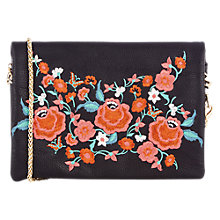 Buy Oasis Embroidery Penny Cross Body Bag, Multi Online at johnlewis.com