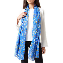 Buy Hobbs Esme Scarf, Blue/Multi Online at johnlewis.com