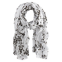 Buy Mint Velvet Animal Print Scarf, Multi Online at johnlewis.com