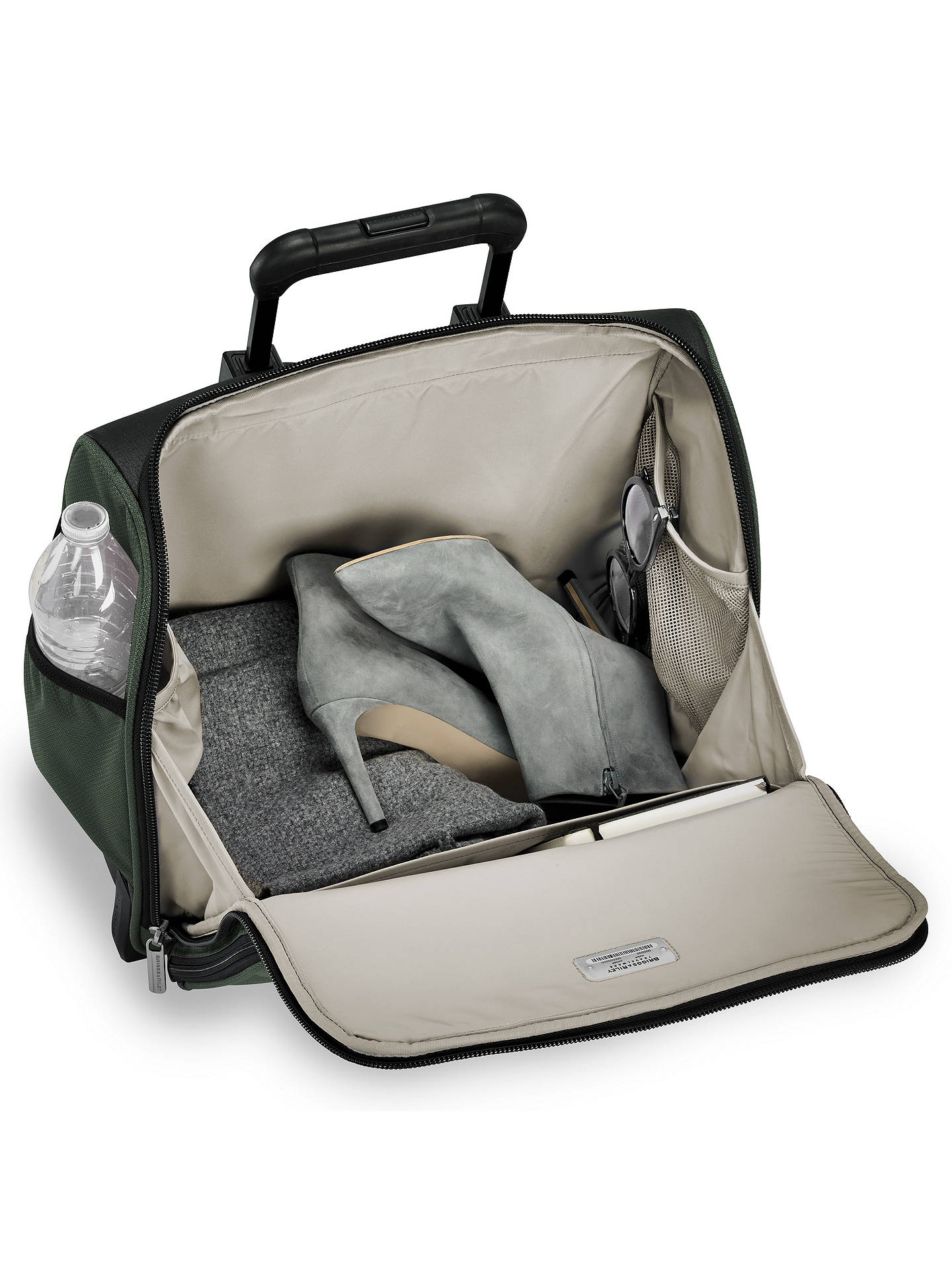 BuyBriggs & Riley Rolling Cabin Bag, Rainforest Online at johnlewis.com