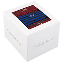 Buy Calvin Klein Striped Sock Gift Box, Pack of 3, Multi Online at johnlewis.com