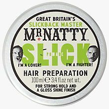 Buy Mr Natty's Slick Pomade Hair Preparation Online at johnlewis.com
