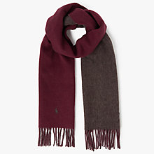 Buy Polo Ralph Lauren Reversible Hunter Scarf Online at johnlewis.com