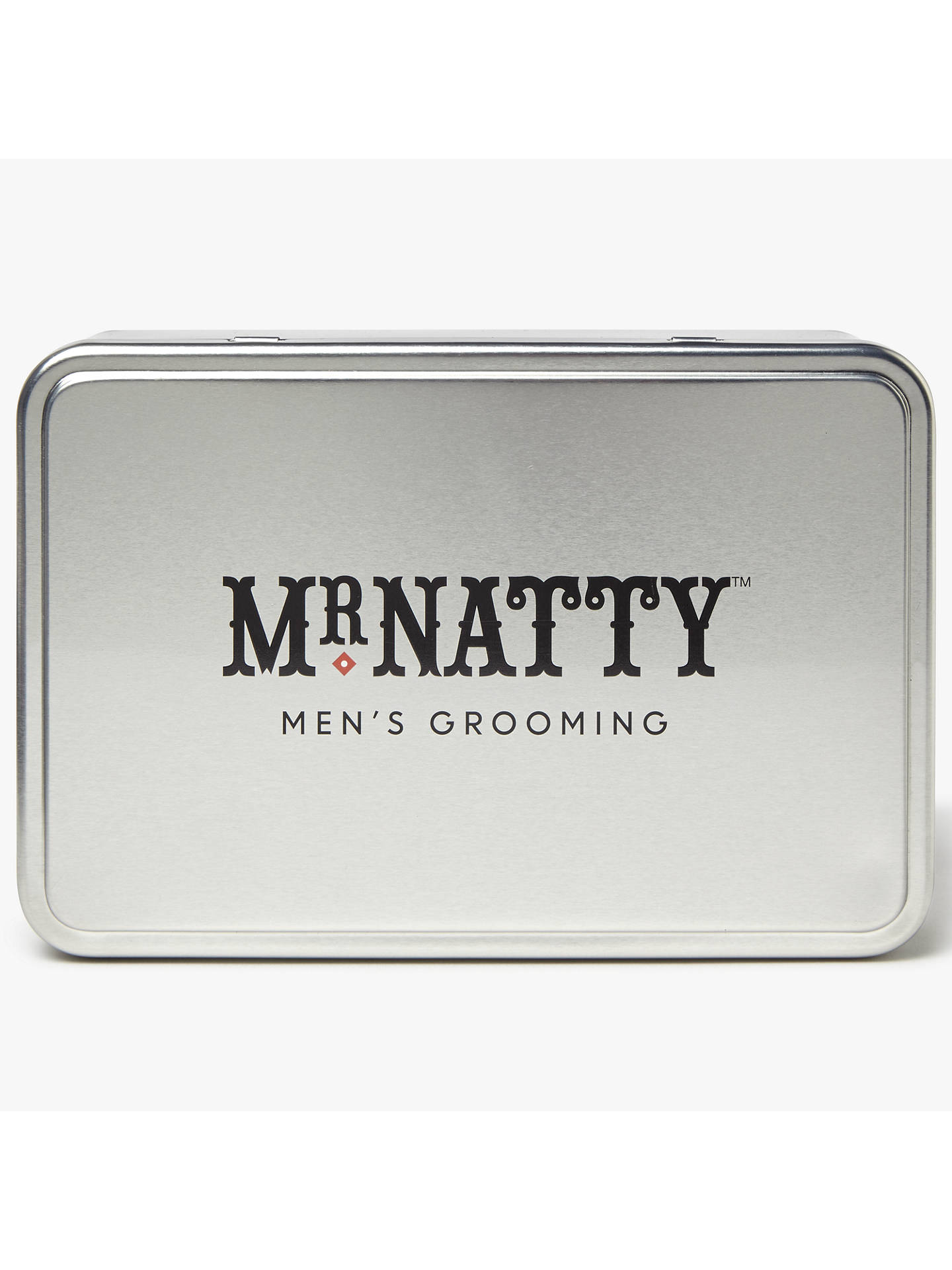 Buy Mr Natty Grooming Kit Tin, Silver Online at johnlewis.com