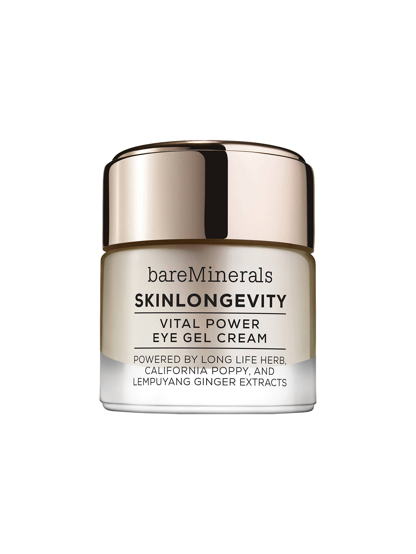 Bare Minerals Skin Longevity® Vital Power Eye Gel Cream, 15g by Bareminerals