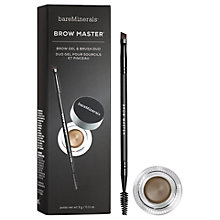 Buy bareMinerals Brow Master Brow Gel & Brush Duo Kit Online at johnlewis.com