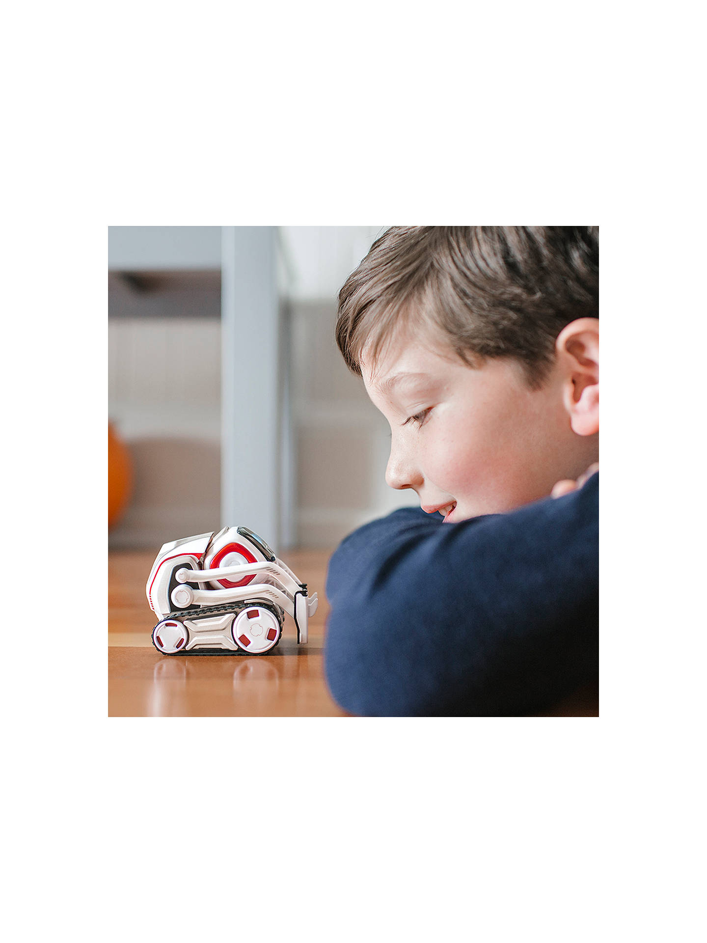BuyAnki Cozmo Robot plus Create with Cozmo book (Bundle) Online at johnlewis.com