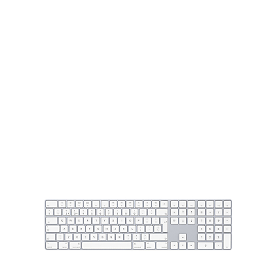 Image of Apple Magic Keyboard with Numeric Keypad, British English