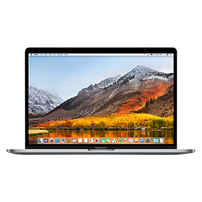 Image of 2017 Apple MacBook Pro 15 Touch Bar, Intel Core i7, 16GB RAM, 512GB SSD, Radeon Pro 560