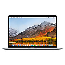 "Buy 2017 Apple MacBook Pro 15"" Touch Bar, Intel Core i7, 16GB RAM, 512GB SSD, Radeon Pro 560 Online at johnlewis.com"