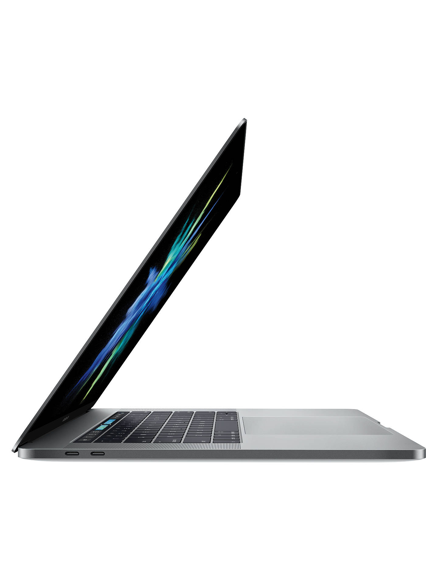 "Buy 2017 Apple MacBook Pro 15"" Touch Bar, Intel Core i7, 16GB RAM, 512GB SSD, Radeon Pro 560, Space Grey Online at johnlewis.com"