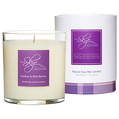 Isle of Skye Candle Company Heather & Wild Berries Candle