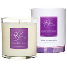 Buy Isle of Skye Candle Company Heather & Wild Berries Candle Online at johnlewis.com