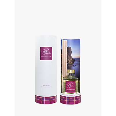 Isle of Skye Candle Company Raspberry & White Ginger Diffuser
