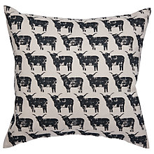 Buy IzziRainey Highland Cow Cushion Online at johnlewis.com