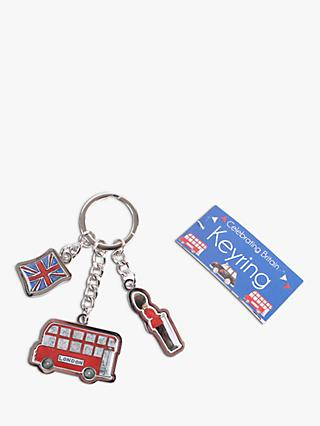 Milly Green Celebrating Britain Charm Keyring