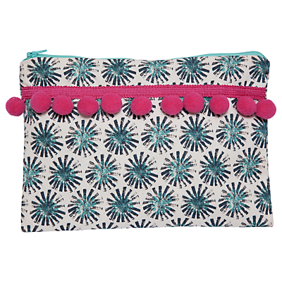 IzziRainey Dandelion Pompom Wash Bag