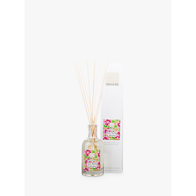 Cole & Co Tea Rose & Peony Diffuser, 200ml