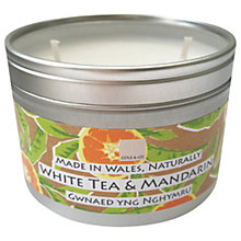 Buy Cole & Co White Tea & Mandarin Candle Tin, 250g Online at johnlewis.com