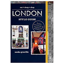 Buy Eat Sleep Shop London Style Guide Book Online at johnlewis.com