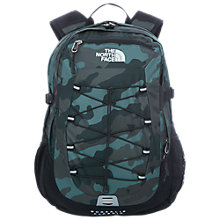 Buy The North Face Borelis Classic Backpack, Camo Print Online at johnlewis.com