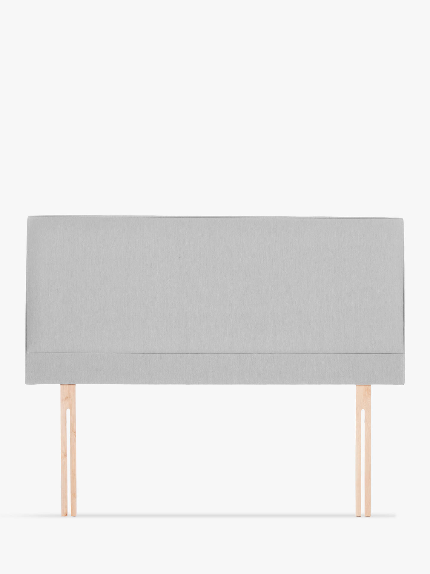 BuyJohn Lewis & Partners Caversham Strutted Headboard, Canvas Steel, Super King Size Online at johnlewis.com