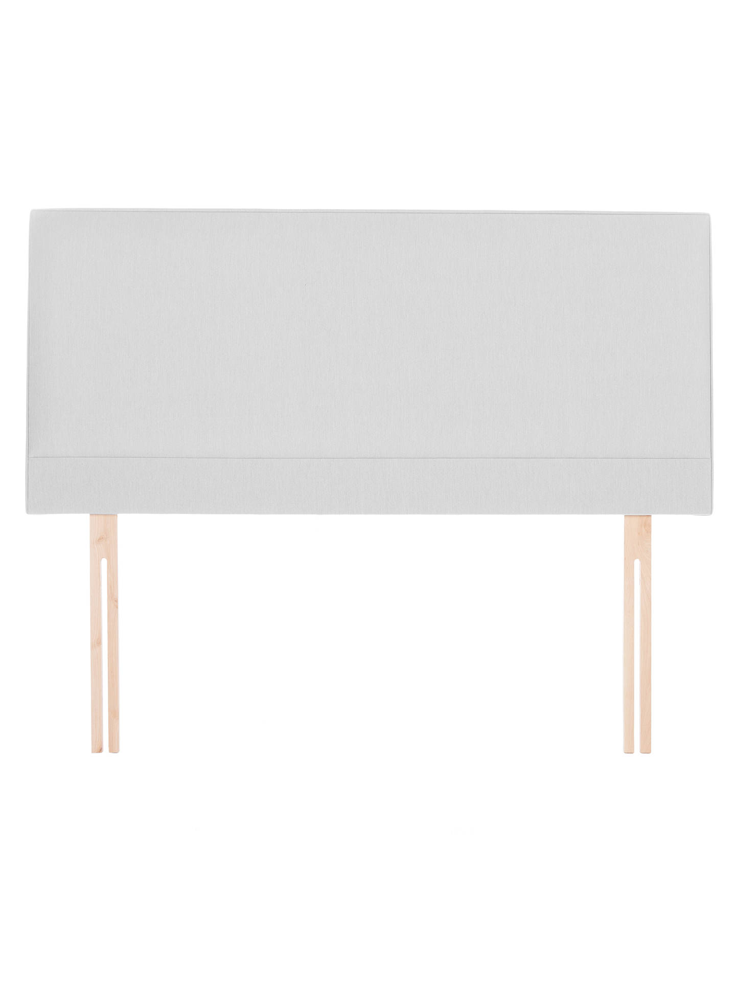 BuyJohn Lewis & Partners Caversham Strutted Headboard, Stone Grey, Double Online at johnlewis.com