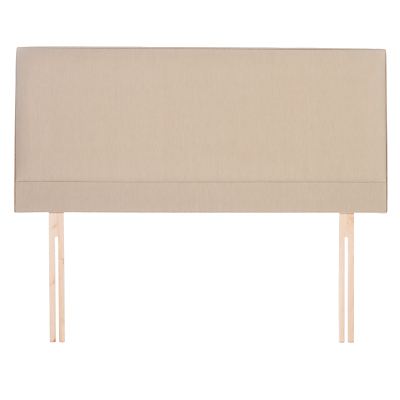 John Lewis Caversham Strutted Headboard, Super King Size