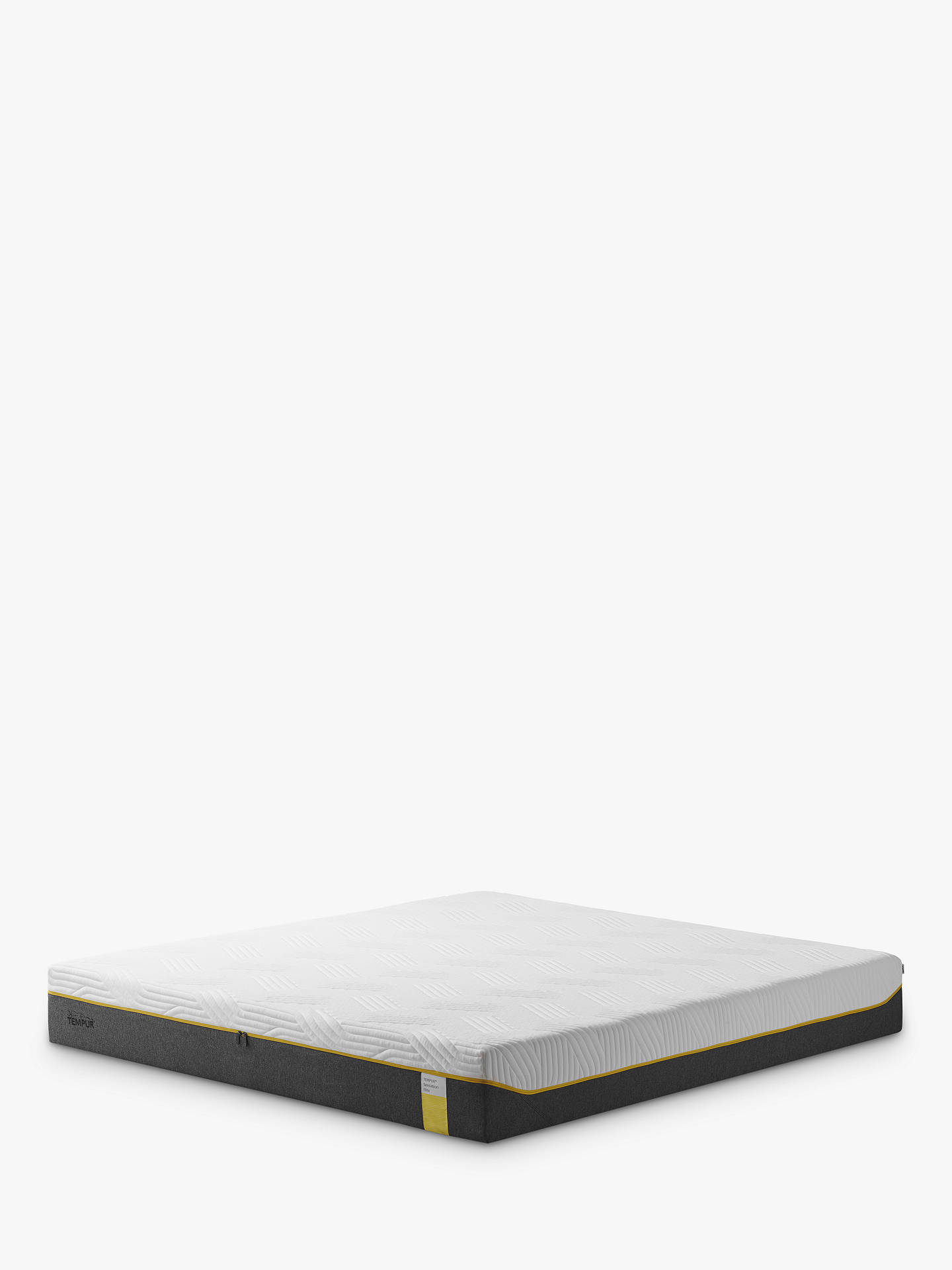 Buy Tempur Sensation Elite 25 Memory Foam Mattress, Firm Tension, King Size Online at johnlewis.com