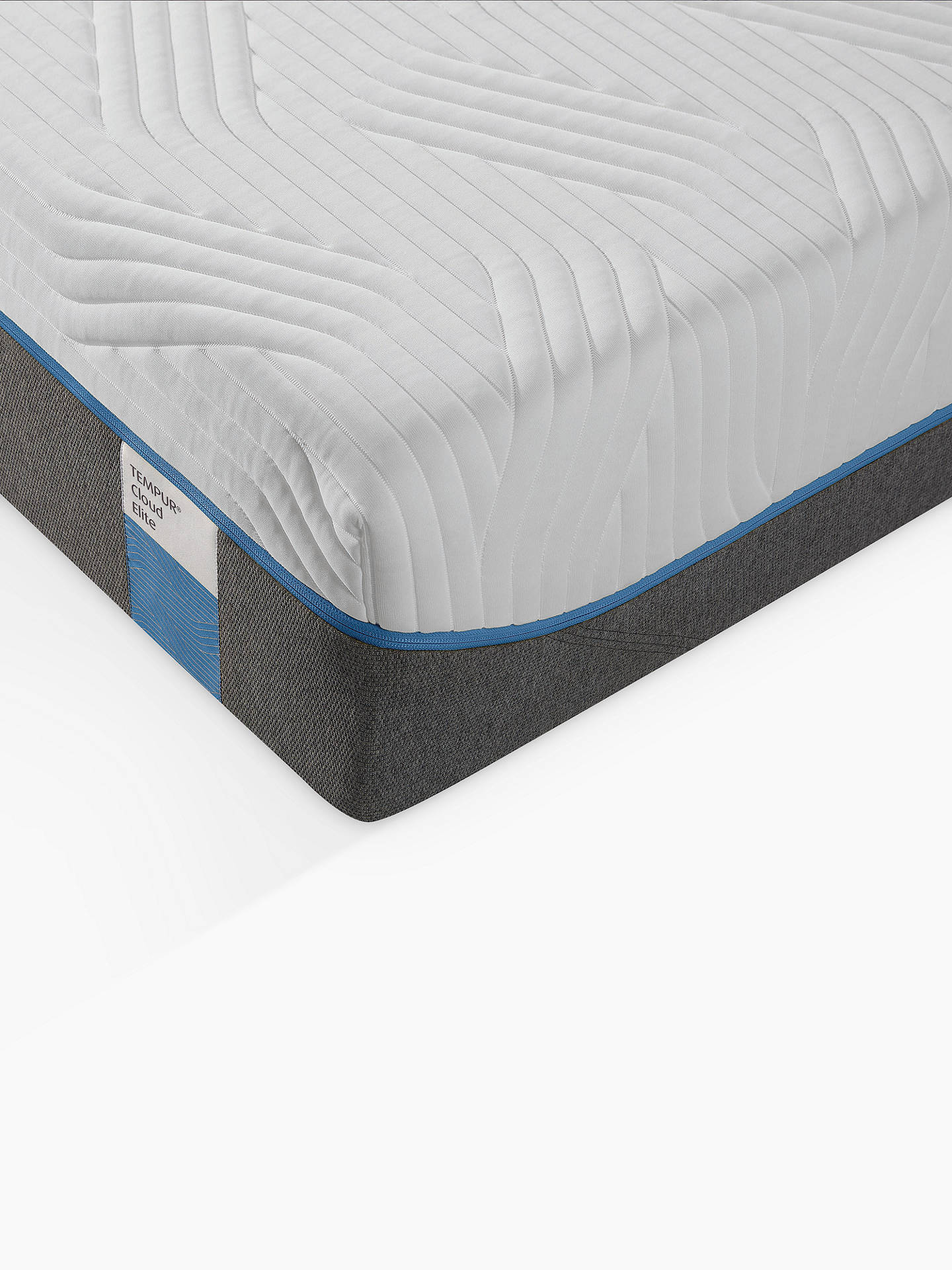 BuyTempur Cloud Elite 25 Memory Foam Mattress, Soft, Super King Size Online at johnlewis.com