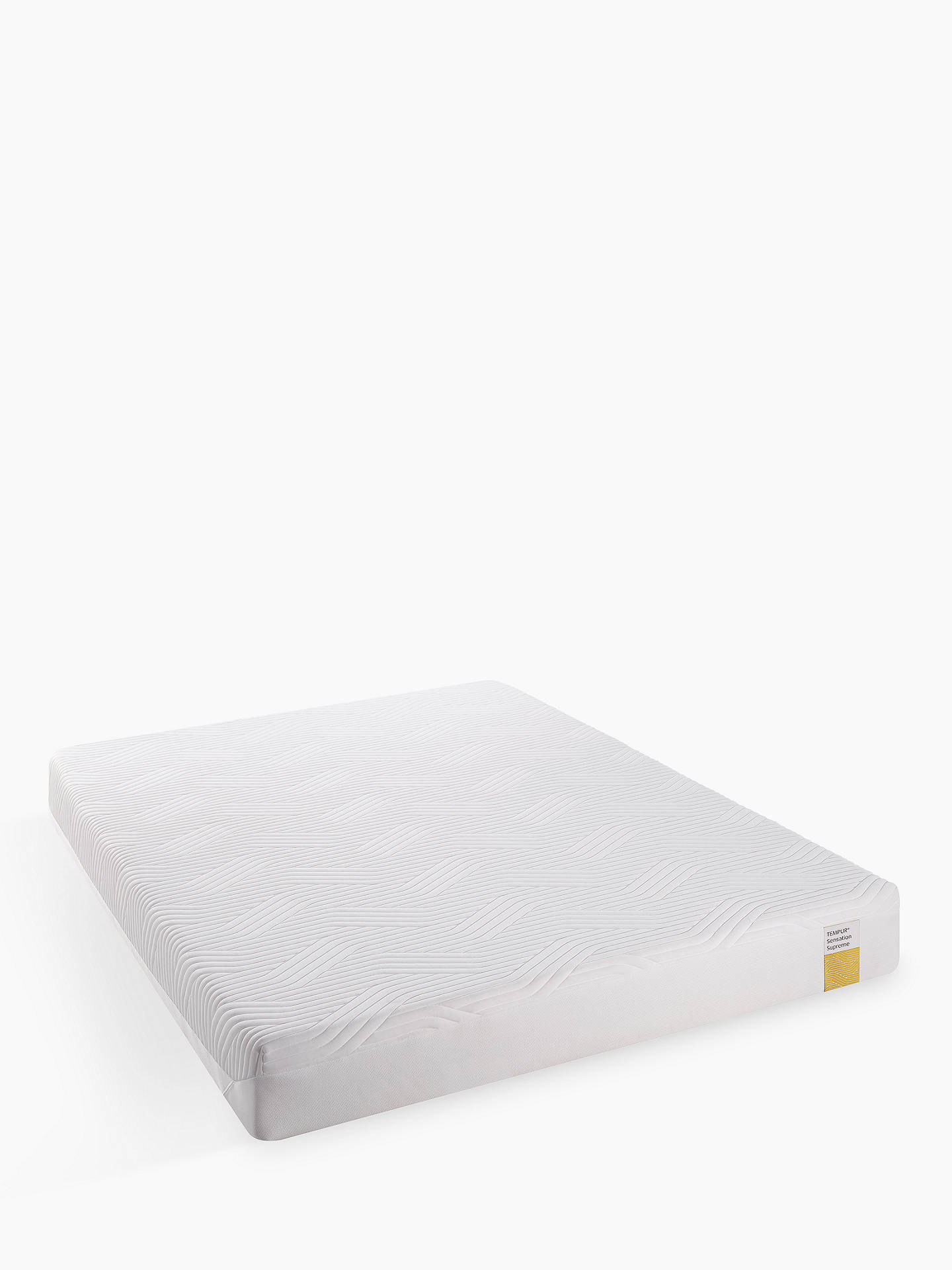 BuyTempur Sensation Supreme 21 Memory Foam Mattress, Medium, Double Online at johnlewis.com