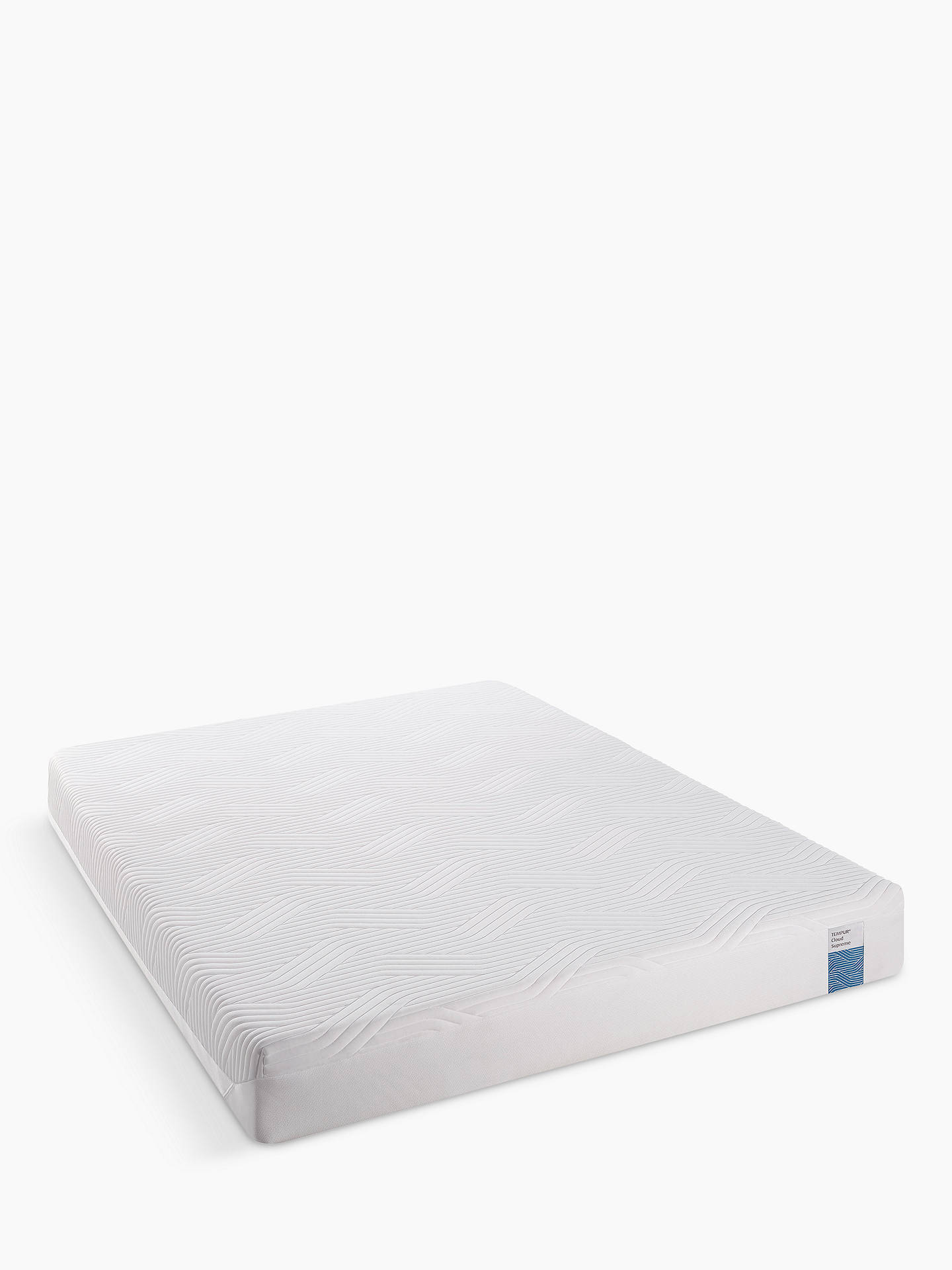 Buy Tempur Cloud Supreme 21 Memory Foam Mattress, Soft, King Size Online at johnlewis.com