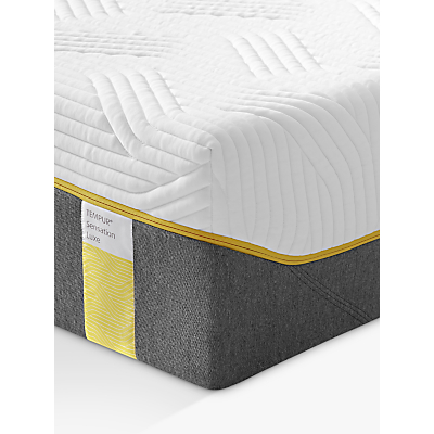 Tempur Sensation Luxe 30 Memory Foam Mattress, Medium, Double