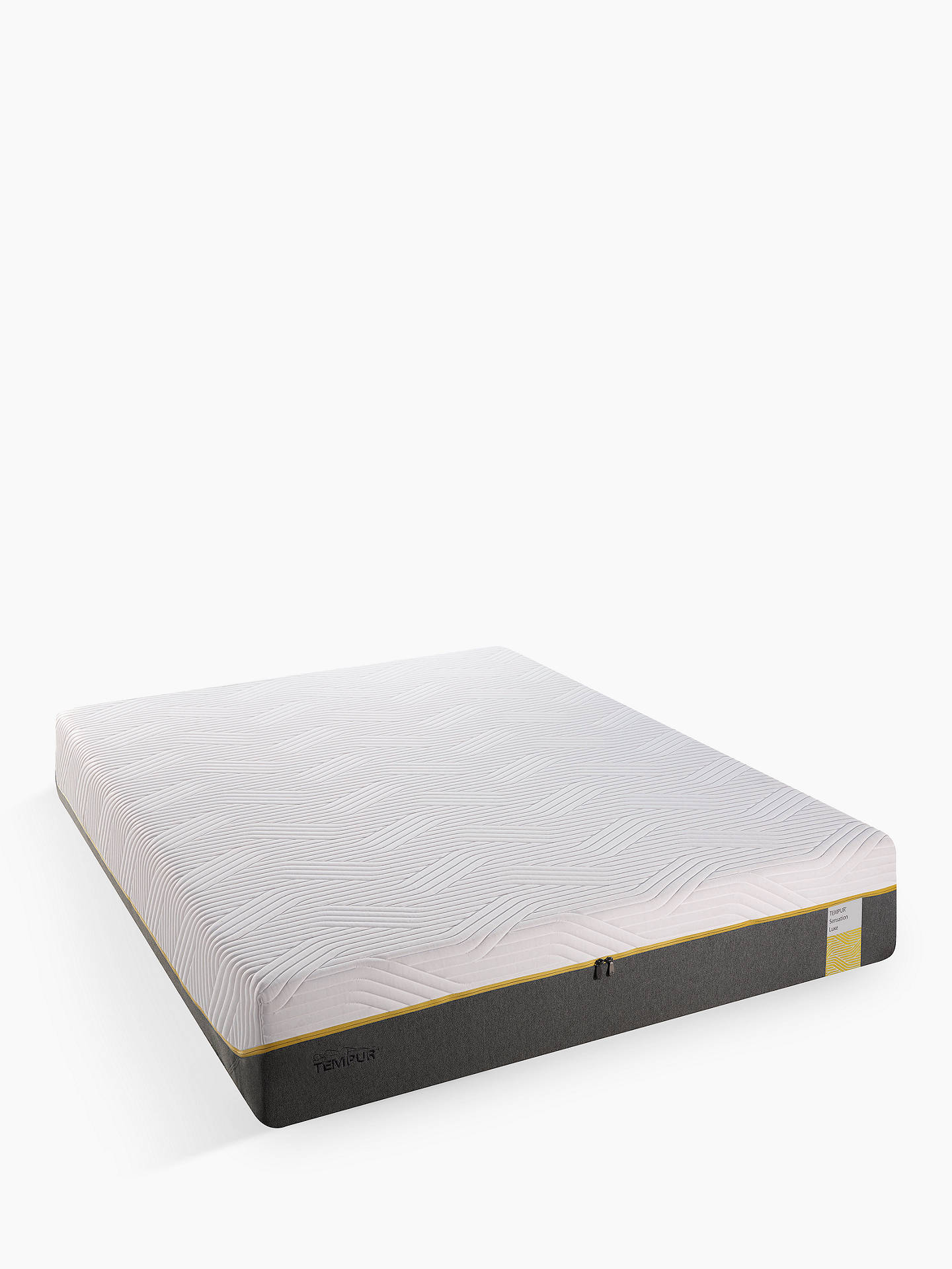 BuyTempur Sensation Luxe 30 Memory Foam Mattress, Medium, Double Online at johnlewis.com