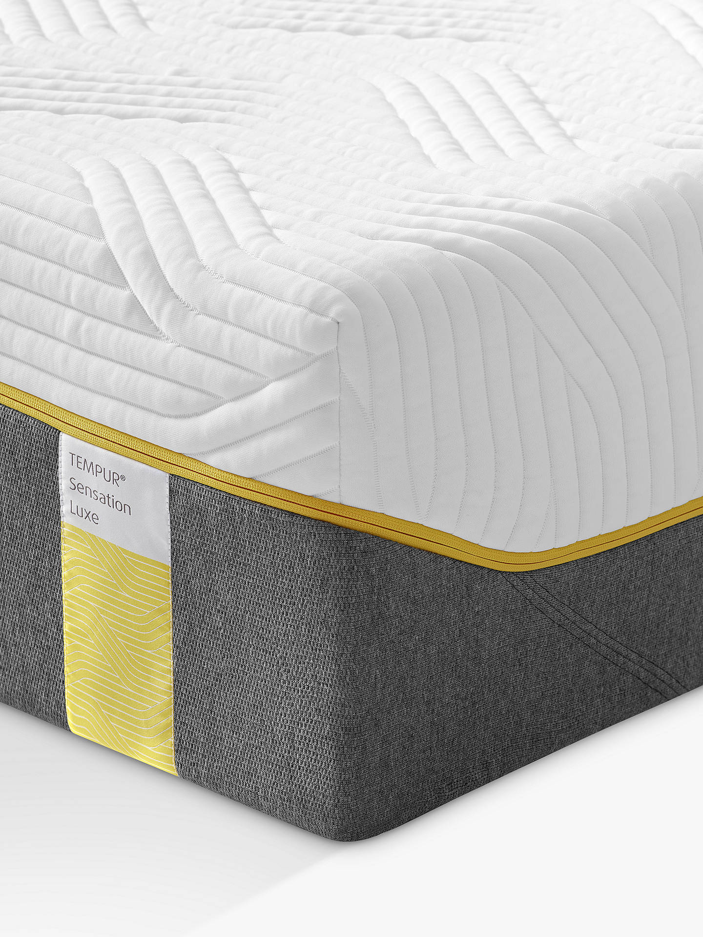 BuyTempur Sensation Luxe 30 Memory Foam Mattress, Medium, Super King Size Online at johnlewis.com