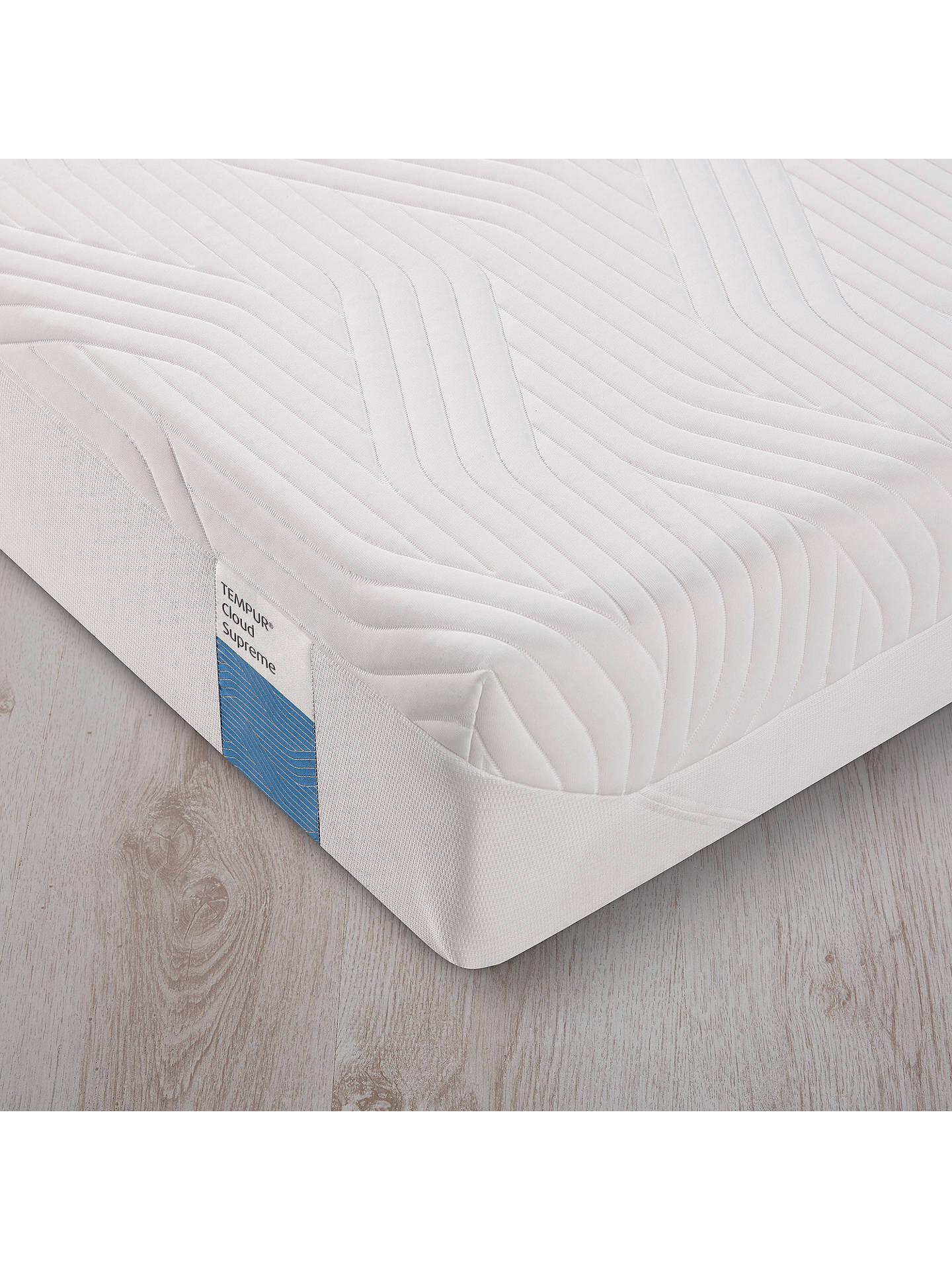 online retailer 8bd69 a2c1c Tempur Cloud Supreme 21 Memory Foam Mattress, Soft, Small Single