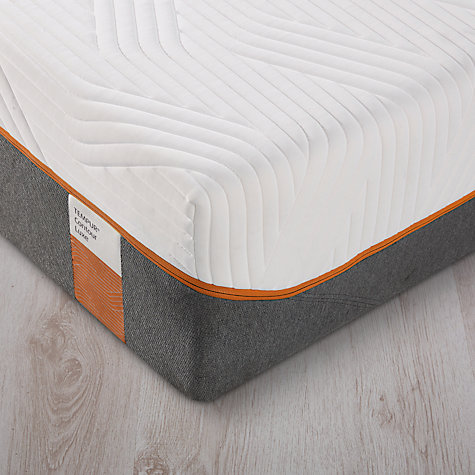Tempur Contour Luxe Memory Foam Mattress Firm Extra Long Single Online At Johnlewis