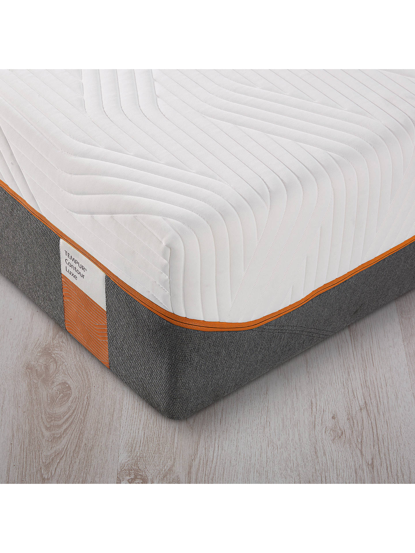 BuyTempur Contour Luxe 30 Memory Foam Mattress, Firm, European King Size Online at johnlewis.com