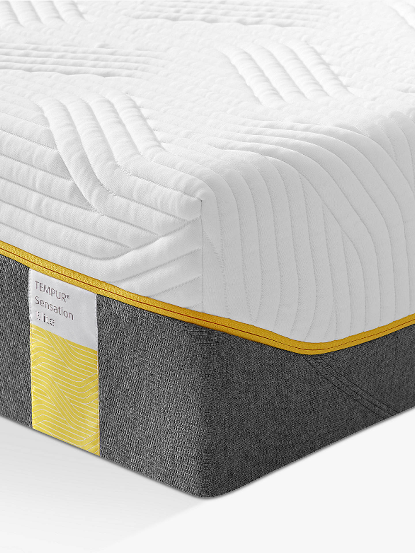 Buy Tempur Sensation Elite 25 Memory Foam Mattress, Firm Tension, Super King Size Online at johnlewis.com