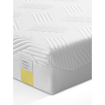 Tempur Sensation Supreme 21 Memory Foam Mattress, Medium, Single