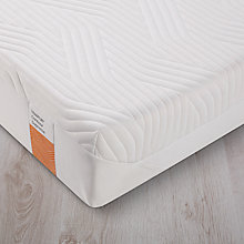 Buy Tempur Contour Supreme 21 Memory Foam Mattress, Firm, Extra Long Single Online at johnlewis.com