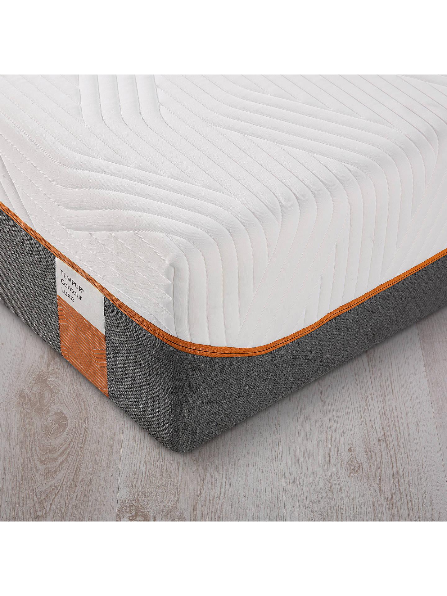 Tempur Contour Luxe 30 Memory Foam Mattress Firm Double At John