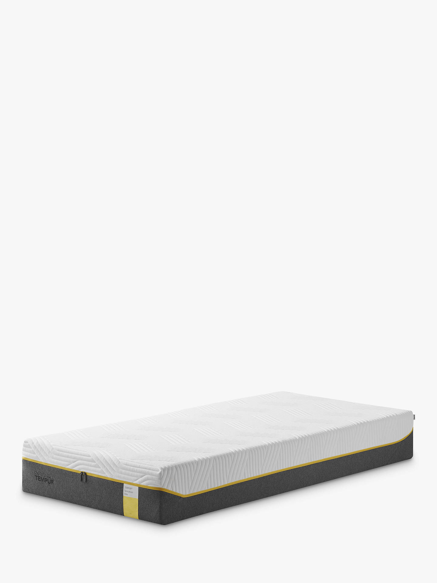 Buy Tempur Sensation Elite 25 Memory Foam Mattress, Firm Tension, Single Online at johnlewis.com