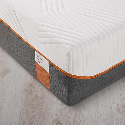 Tempur Contour Luxe Memory Foam Mattress, Firm, Single