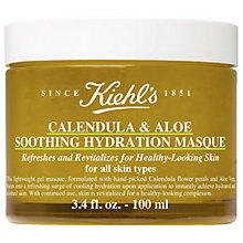 Buy Kiehl's Calendula & Aloe Soothing Hydration Masque, 100ml Online at johnlewis.com