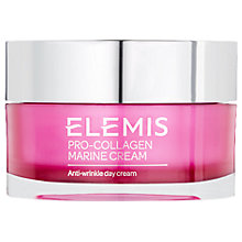 Buy Elemis Breast Cancer Care Pro-Collagen Marine Anti-Wrinkle Day Cream, 100ml Online at johnlewis.com