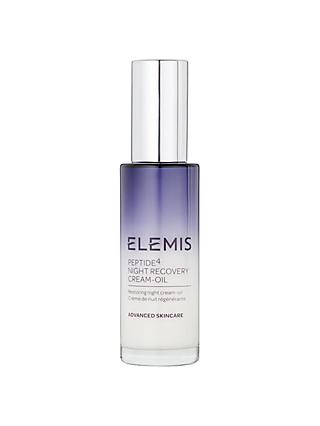 Elemis Peptide4 Night Recovery Cream Oil, 30ml