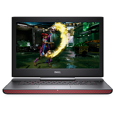 Image of Dell Inspiron 15 7000 Gaming Laptop, Intel Core i7, 16GB RAM, 1TB HDD + 128GB SSD, NVIDIA GeForce GTX 1050Ti, 15.6 Full HD, Red